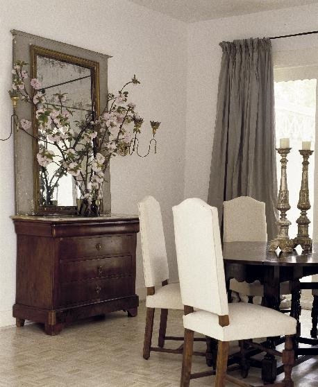 French Dining Rooms: Roses And Rust: Divine Dining