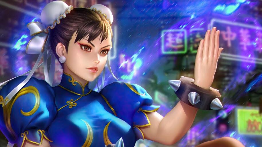 Chun Li, Street Fighter, Game, Girl, 4K, #6.1612