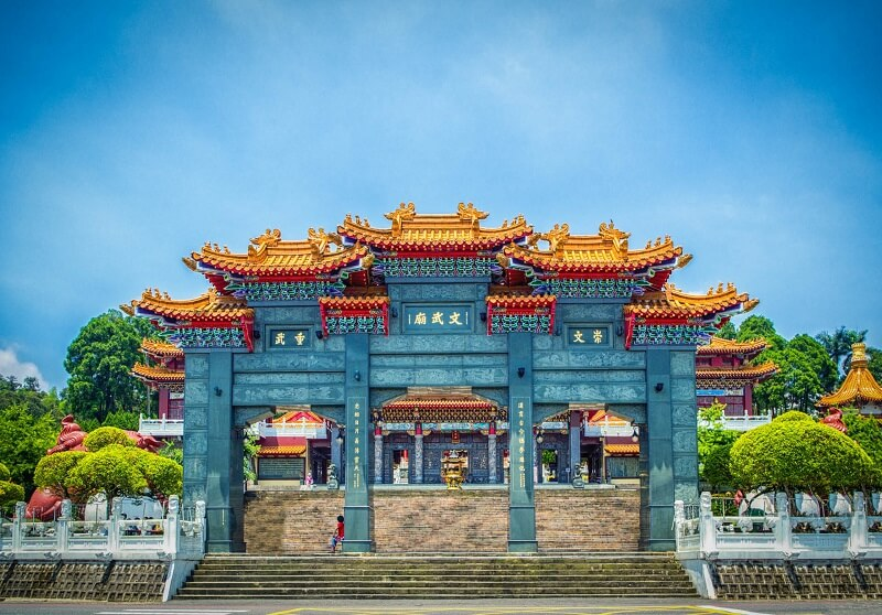 Kết quả hình ảnh cho Văn Võ Miếu ở Đài Loan