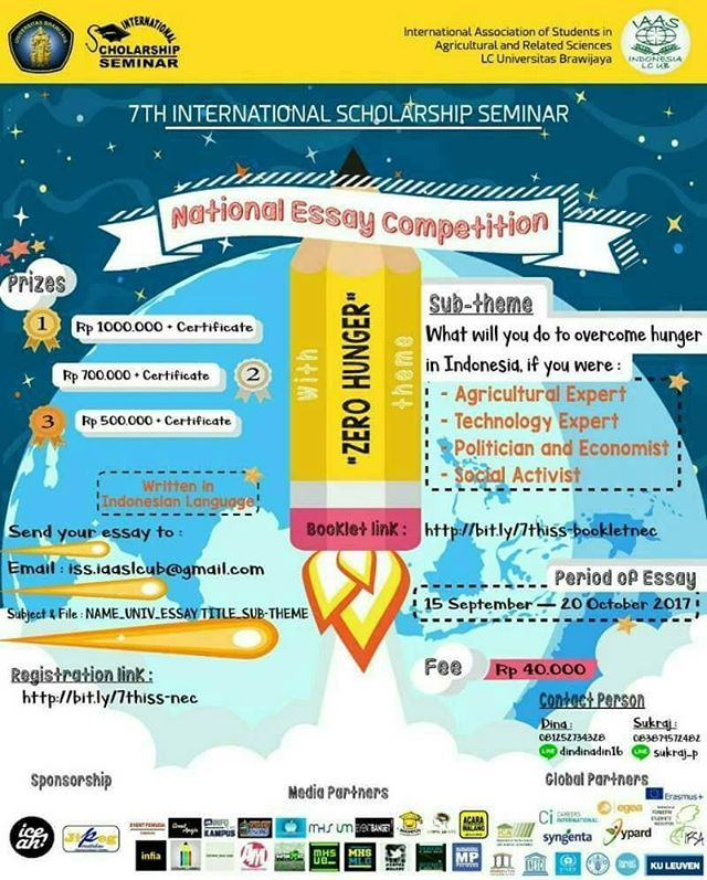 National Essay Competition 2017 | Univ. Brawijaya | Mahasiswa