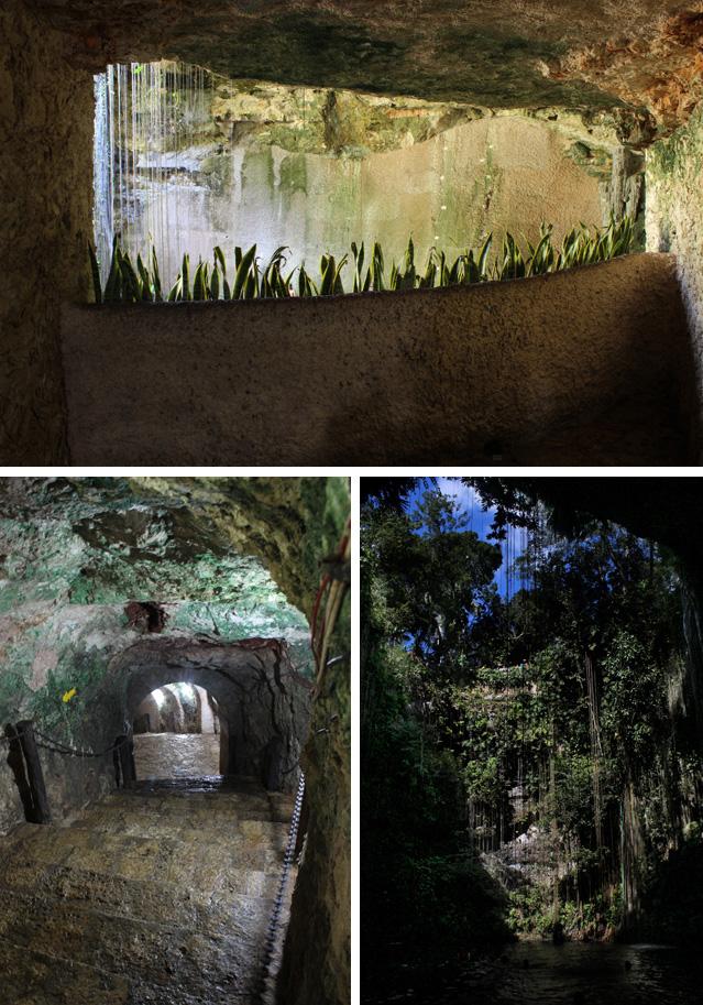 Bajada y descubrimiento del Cenote Ik Kil