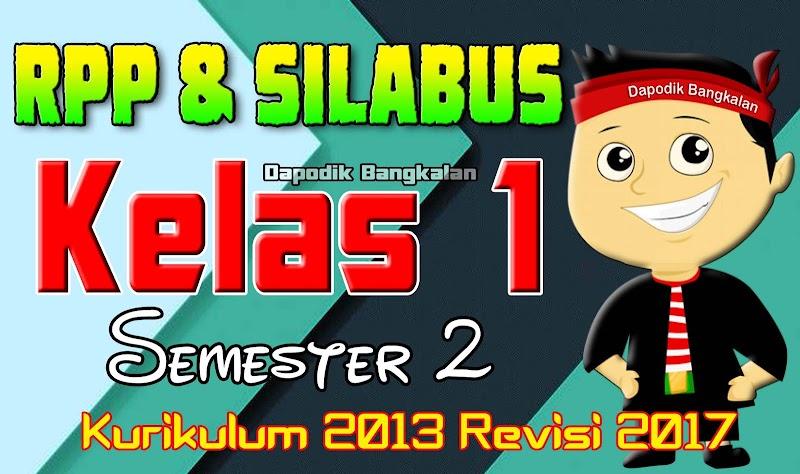 Download RPP dan SILABUS Kelas 1 SD Semester 2 Kurikulum 2013 Revisi 2017