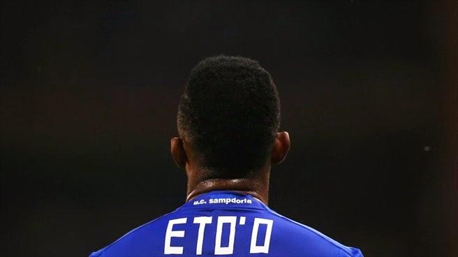 Serie A: Sampdoria-Lazio 0-1 VIDEO, Eto'o sbaglia Gentiletti no
