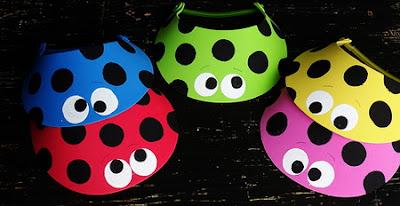 http://craftsbyamanda.com/ladybug-craft-sun-visors/