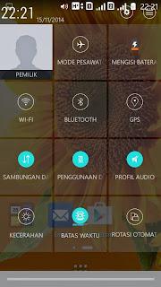 Preview Lexus Zen UI QuickSetting