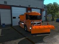 Acc Bajak Salju - Volvo