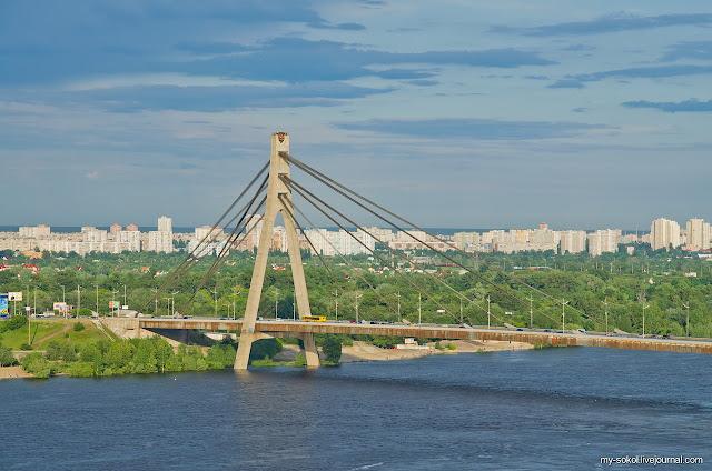 сколько мостов в киеве