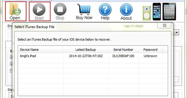 forgotten itunes password for backup