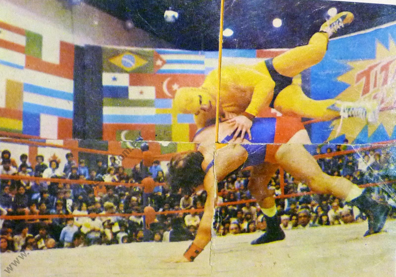 Colección Titanes en el Ring - 1982