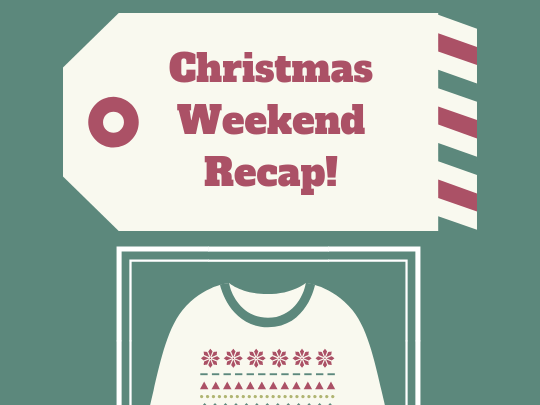 Friday Favorites-Christmas Recap