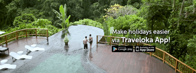 Make your holidays planning easier via the TRAVELOKA App
