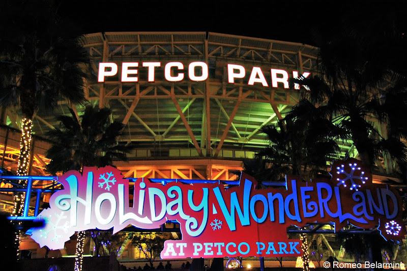 Holiday Wonderland at Petco Park San Diego Christmas