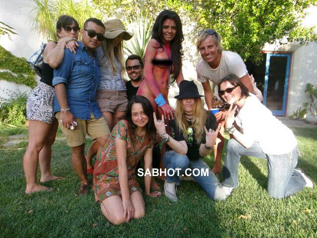 Celebrity Sherlyn Nude Photoshoot Photos