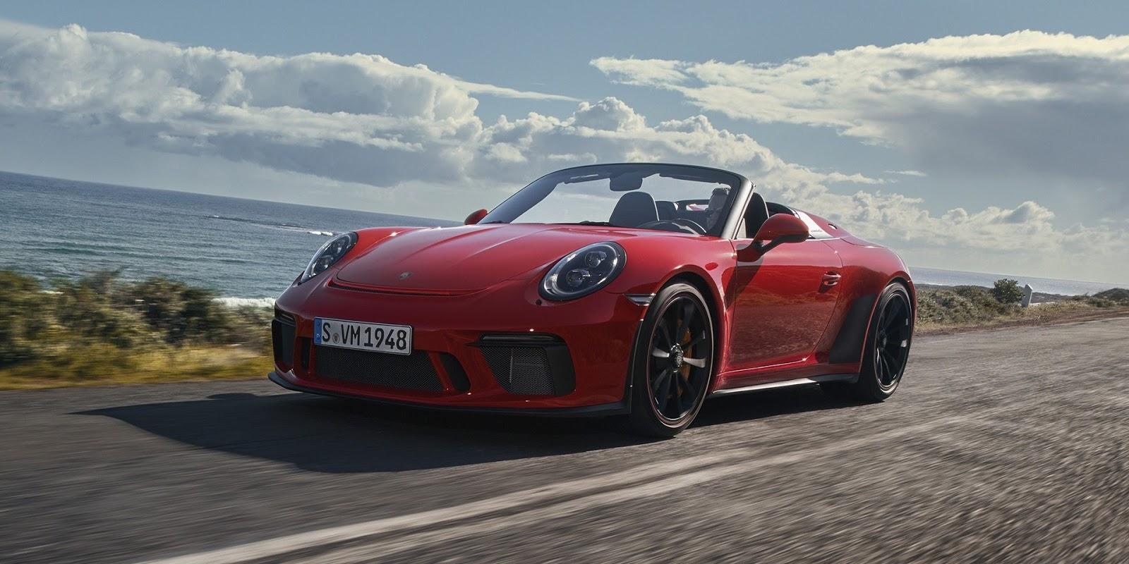porsche 911 speedster apresentado quatro rodas e um volante. Black Bedroom Furniture Sets. Home Design Ideas