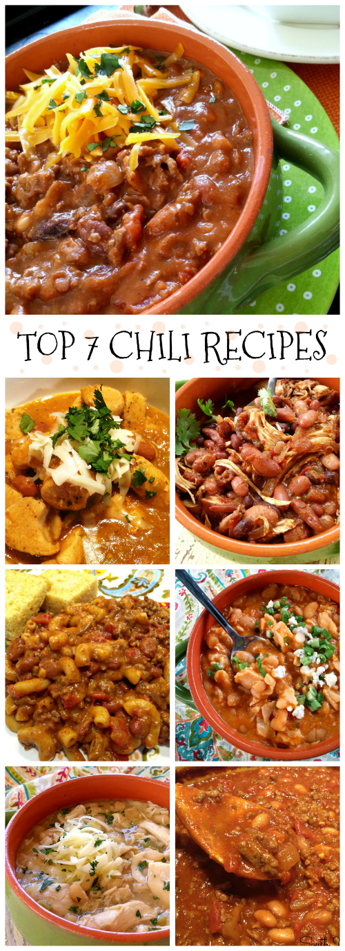 My top 7 all-time FAVORITE chili recipes