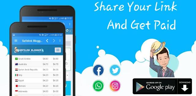 download safelinkblogger.com aplikasi