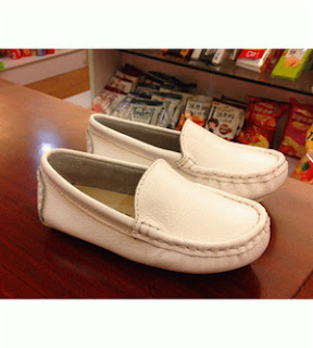 Manmade Loafer Shoes - White