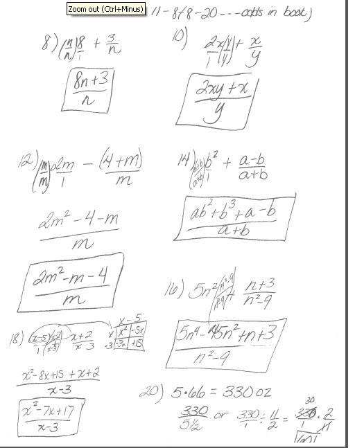 math classes spring 2012 intermediate algebra homework 11 8. Black Bedroom Furniture Sets. Home Design Ideas