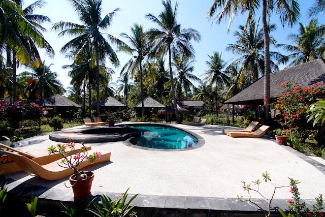 Piscina hotel Trawangan Oasis (Gili Trawangan)