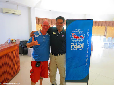 PADI Instructor Development Update on Koh Tao in April 2016