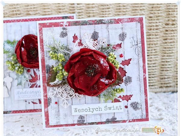 More Christmas Cards / Więcej Kartek Świątecznych