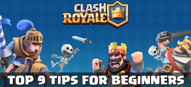 9 Tips Bermain Clash Royale Untuk Pemula