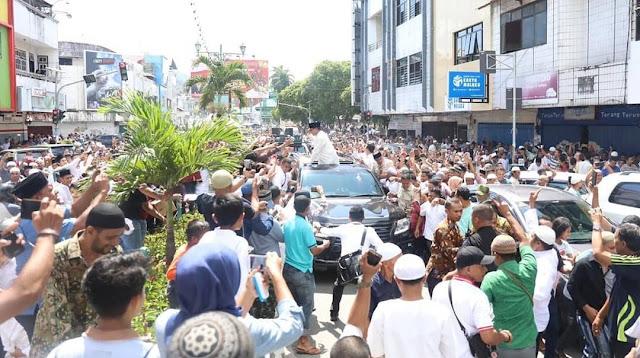 Sambutan Prabowo Bikin Merinding, Salat Jumat di Masjid Al Fatah Ambon Mirip Idul Fitri