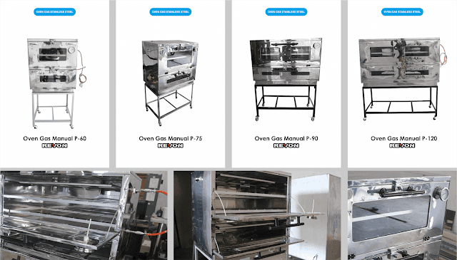 Oven Gas Stainless Steel Murah