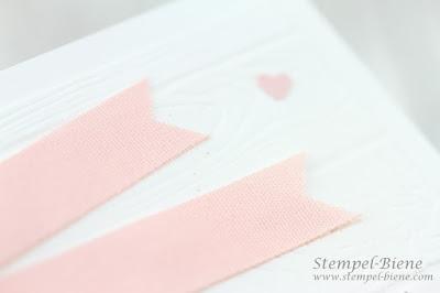 Hochzeitskarte; Hochzeitskarte Baumscheibe; Stampinup; Hochzeitspapeterie, Glückwunschkarte Hochzeit; Always and forever, Stempel-Biene