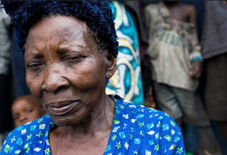 Africa Democratic Republic of the Congo displaced woman