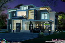 Stunning Contemporary House Architecture - Kerala Home