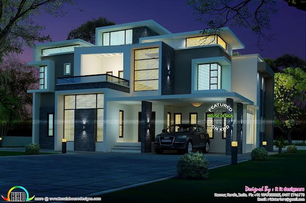 Kerala Contemporary House Design