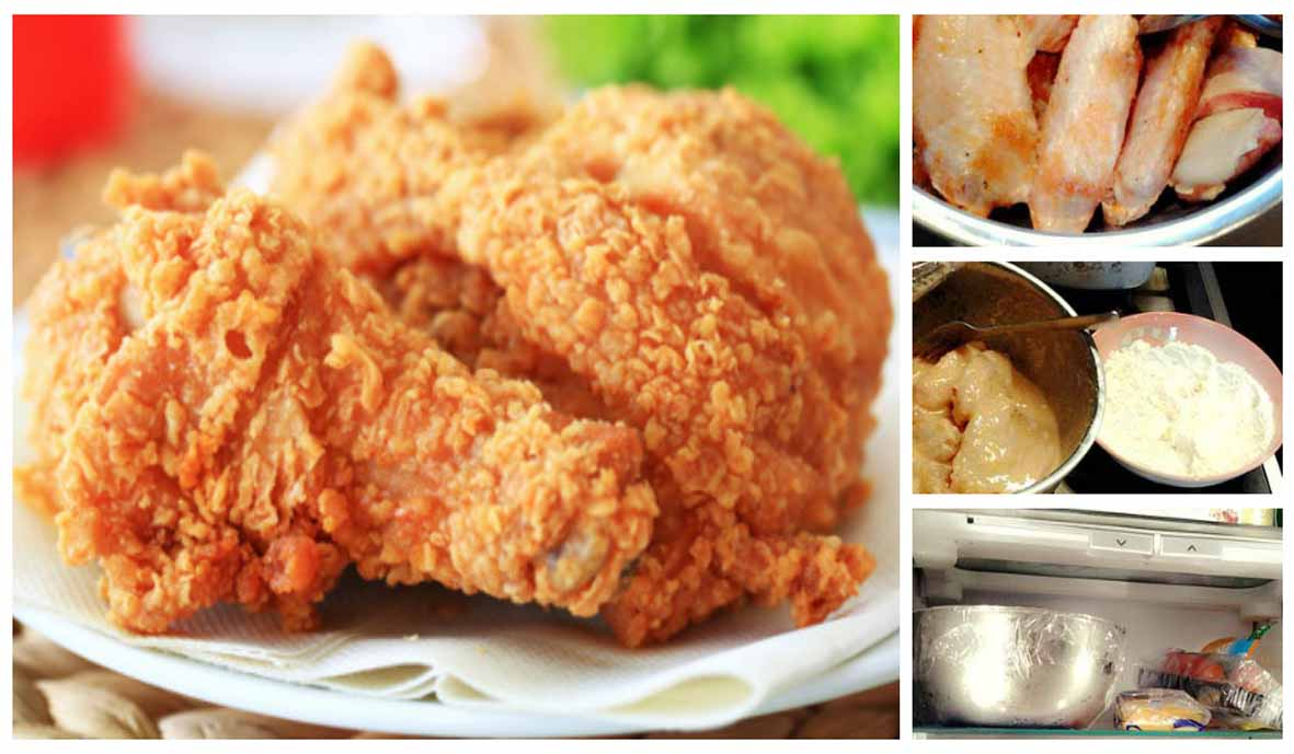 Resep Ayam Goreng KFC