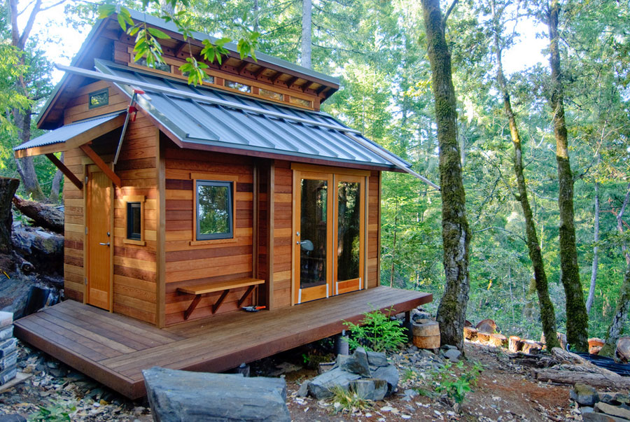 A Tiny House In The Woods Of Sonoma
