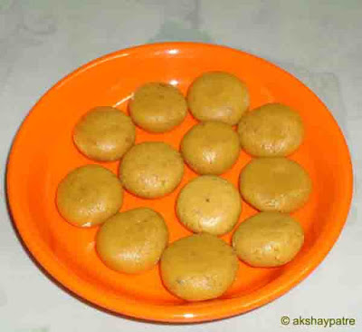 Mawa kesar badam peda is ready to serve