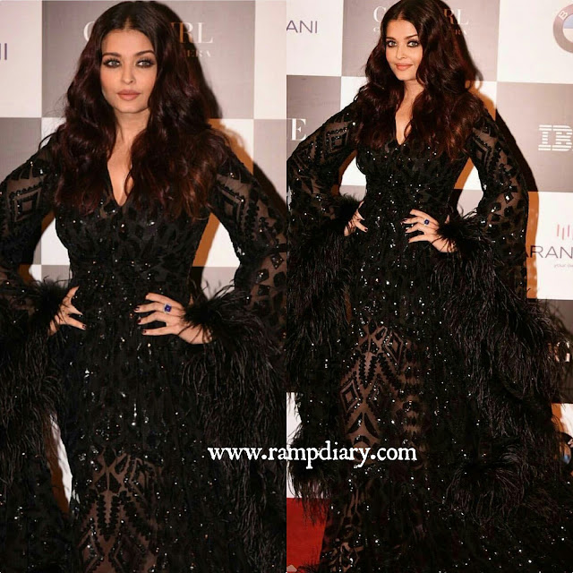 Aishwarya Rai In Malan Breton At Vogue Women of The Year Awards 2017