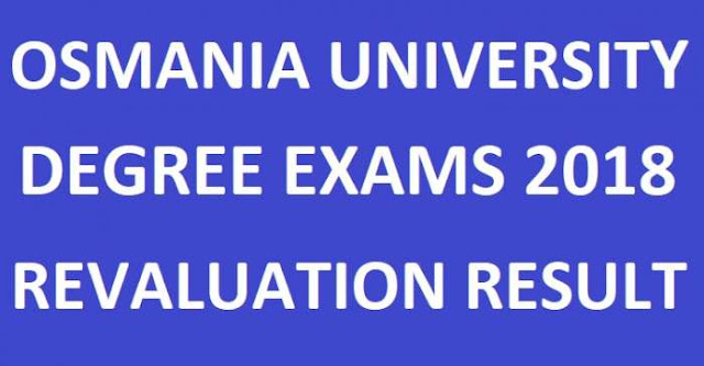 OU Degree 1st & 3rd Sem Revaluation Results Manabadi