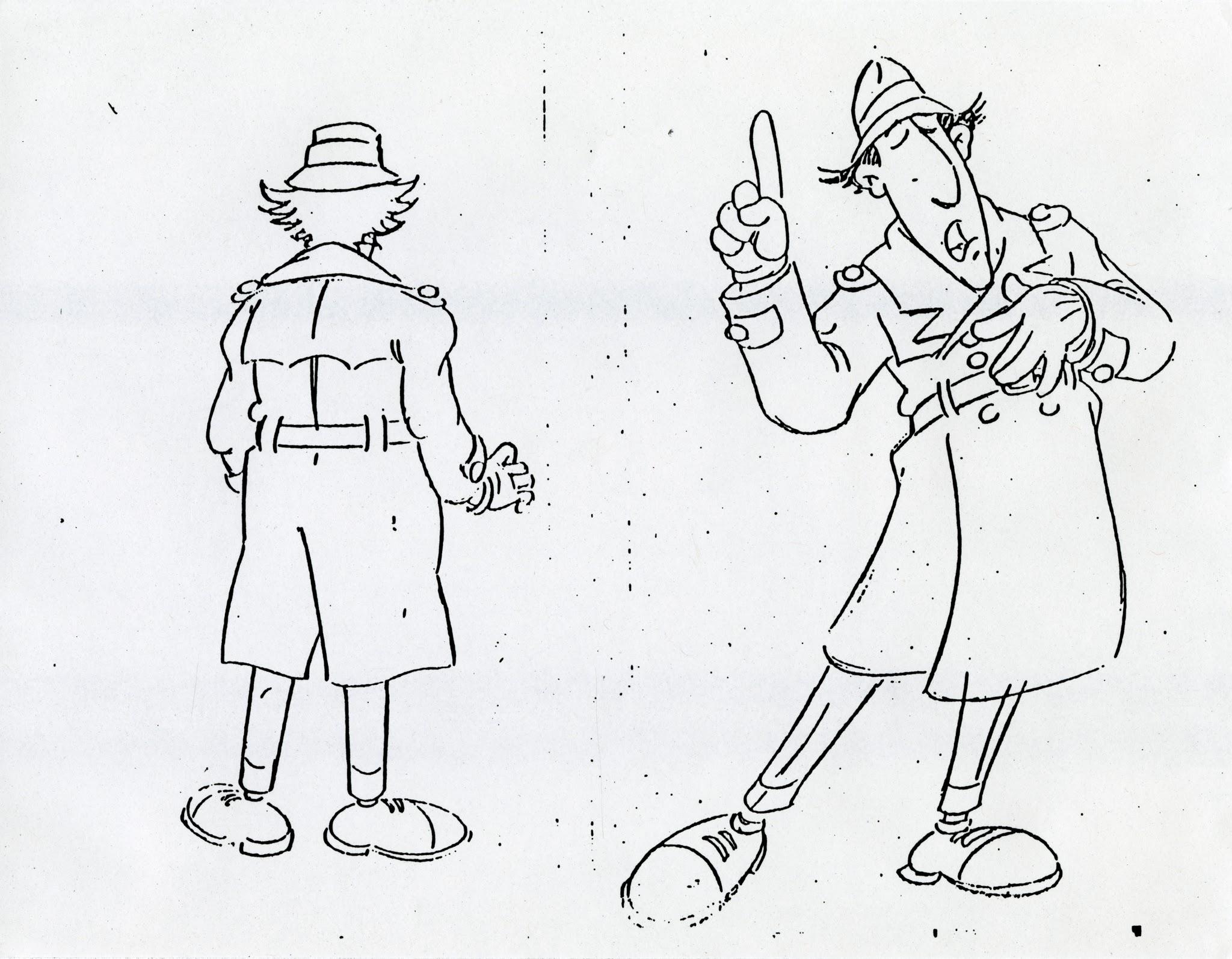 Inspector gadget initial ideas