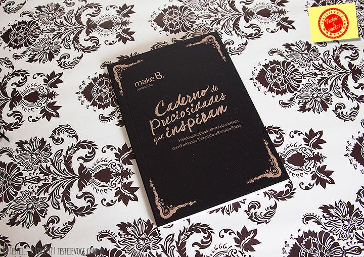 Caderno de Preciosidades que Inspiram Make B – oBoticário