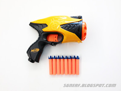 Nerf Dart Tag Snapfire 8 - Review, Video & Internals Guide