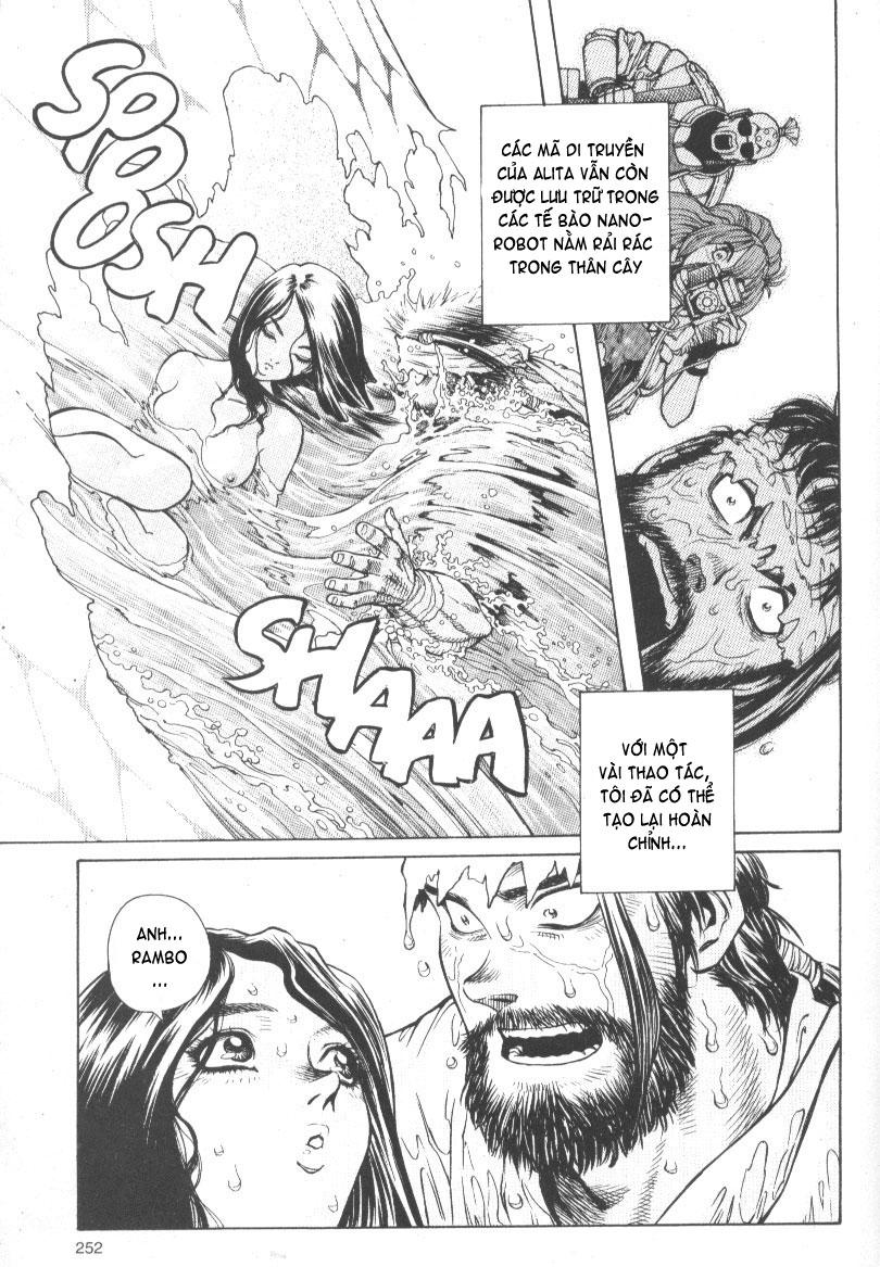 Battle Angel Alita chapter 53 end trang 15