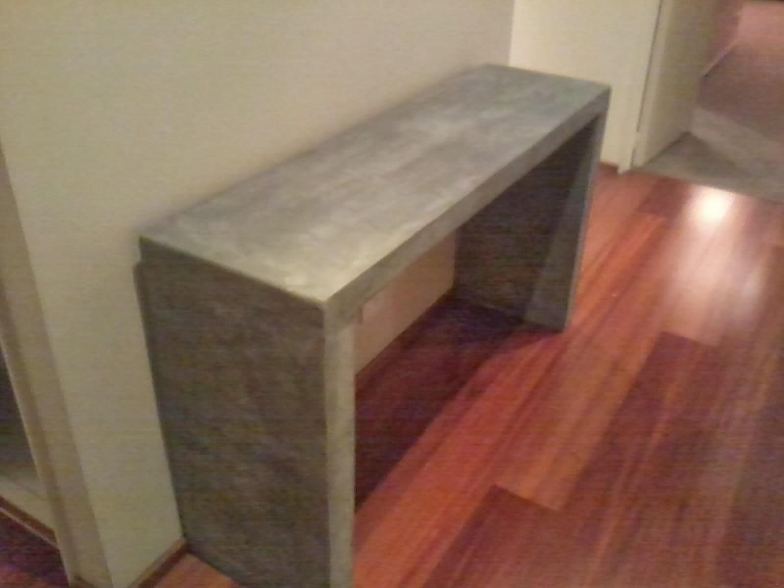 Como Hacer Mesada De Cemento Para Cocina Magonz Com La Idea De  # Muebles Cemento Liviano