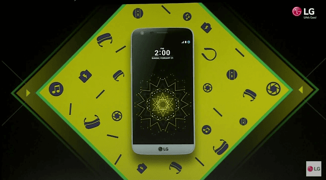 Top 5, LG G5, Features