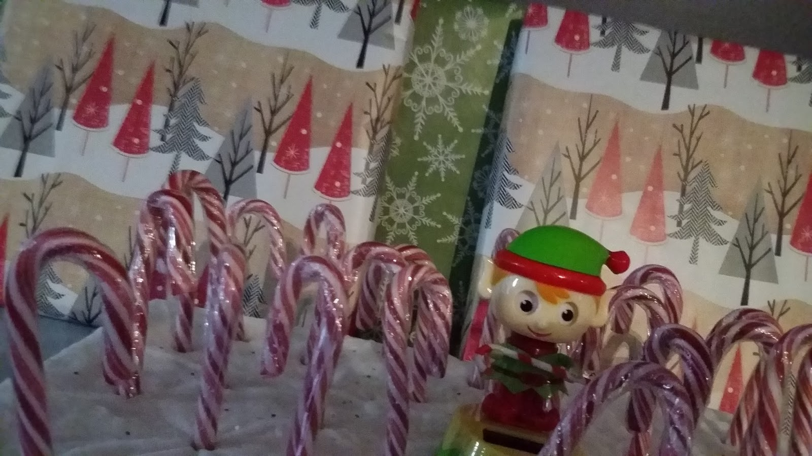 Heartfelt Balance Handmade Life Candy Cane Forest Kid Craft