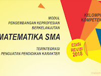 Download Modul PKB Matematika SMA Tahun 2018 (New Revisi)