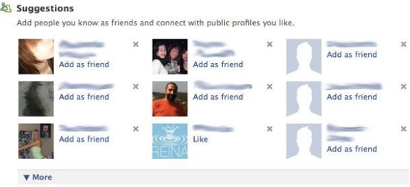 facebook search friends list