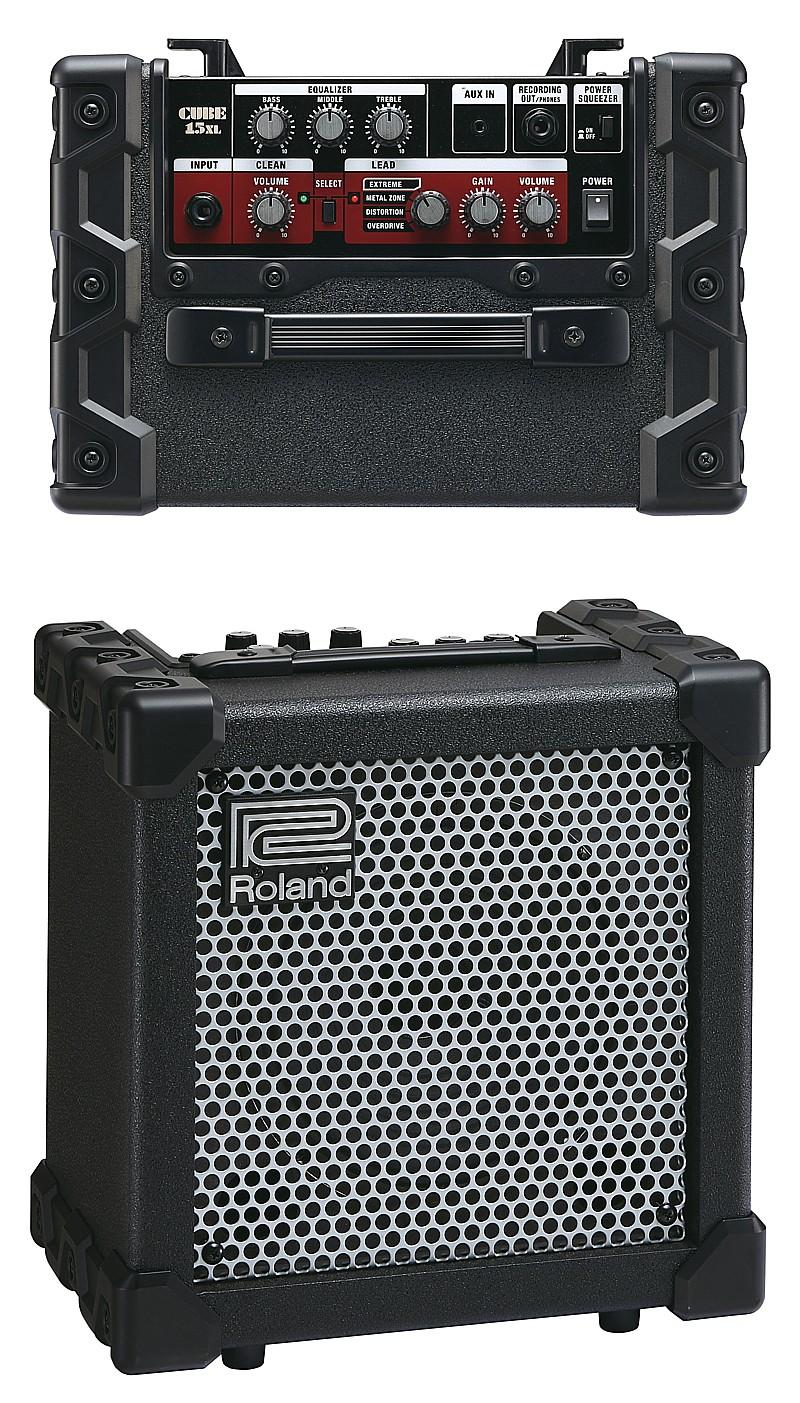 rock stuff reviews review roland cube 15xl amplifier. Black Bedroom Furniture Sets. Home Design Ideas