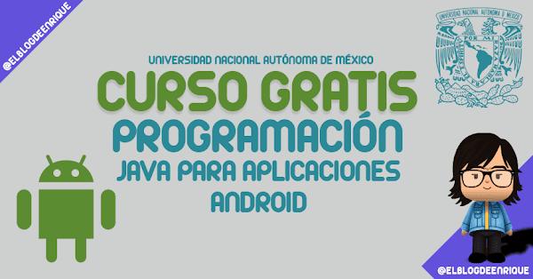 Curso online gratis: Programación con Java para aplicaciones Android
