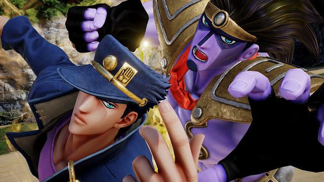 Jotaro dan Dio ikut bergabung di Jump Force