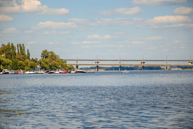 Двухэтажный мост через Воронеж